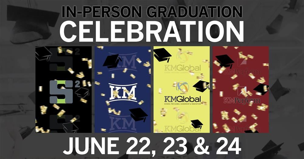 In-Person Graduation Celebration!