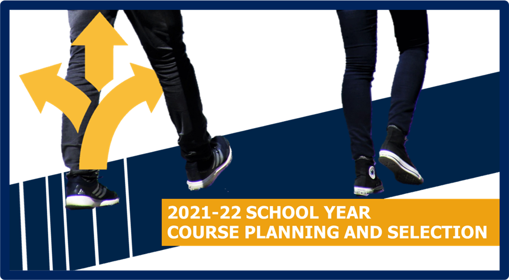 KMHS course planning and selection for the 2021-22 school year begins! DON'T MISS the Virtual Course Information Night February 8 from 5:30 - 7:30 pm