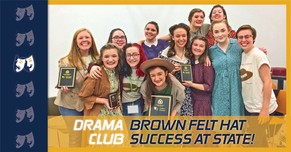 KM Drama Club Brings Home Awards From State Theatre Festival!