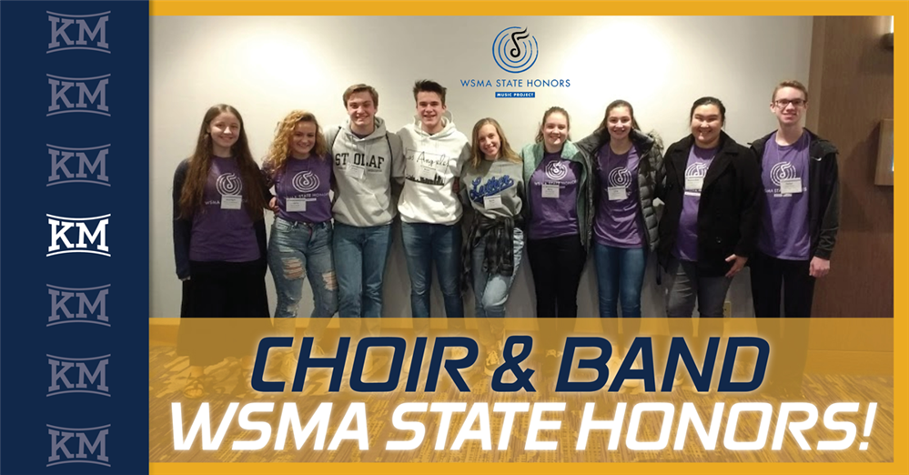 Congrats To All-State Band And Choir Students Who Performed In Madison!