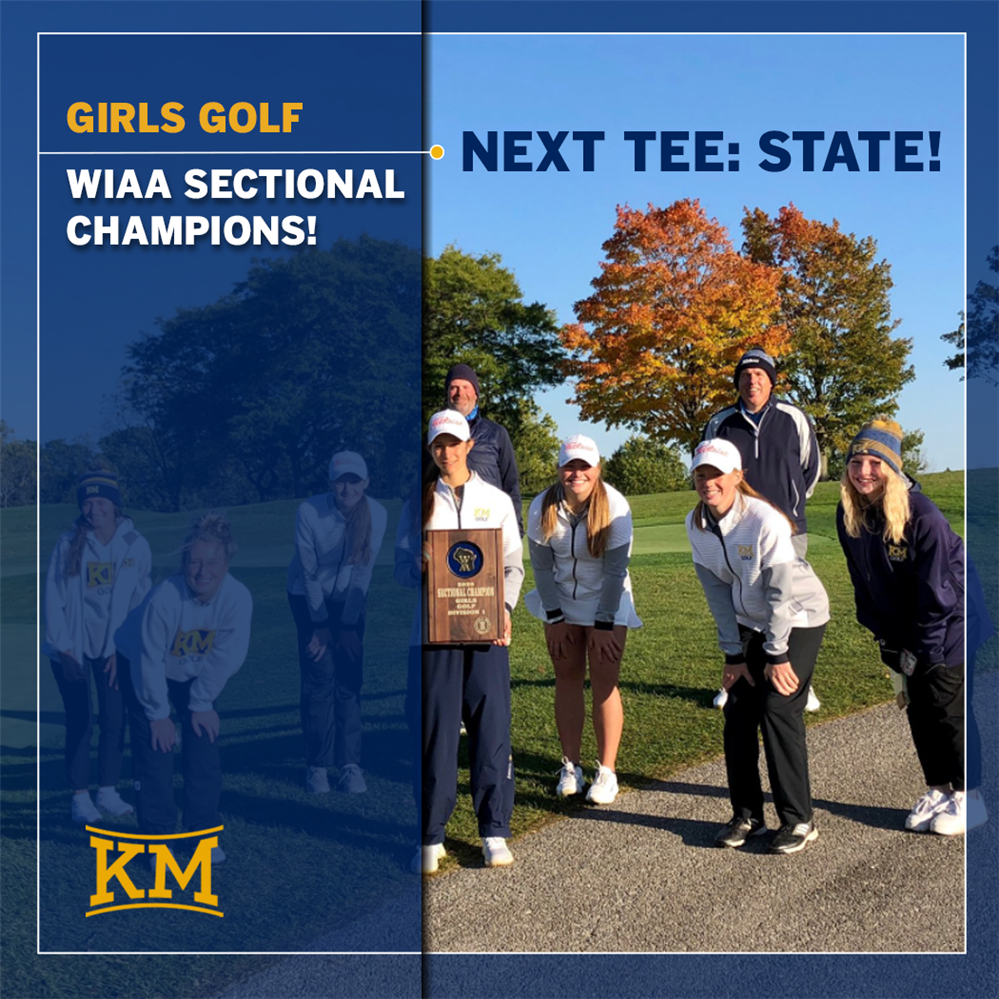 WIAA Sectional Champs - Girls Golf!