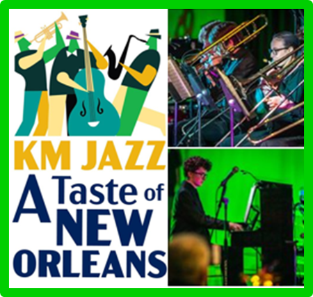 "We are totally JAZZED about KM Jazz's ""A Taste of New Orleans"" that happened on March 7th!"