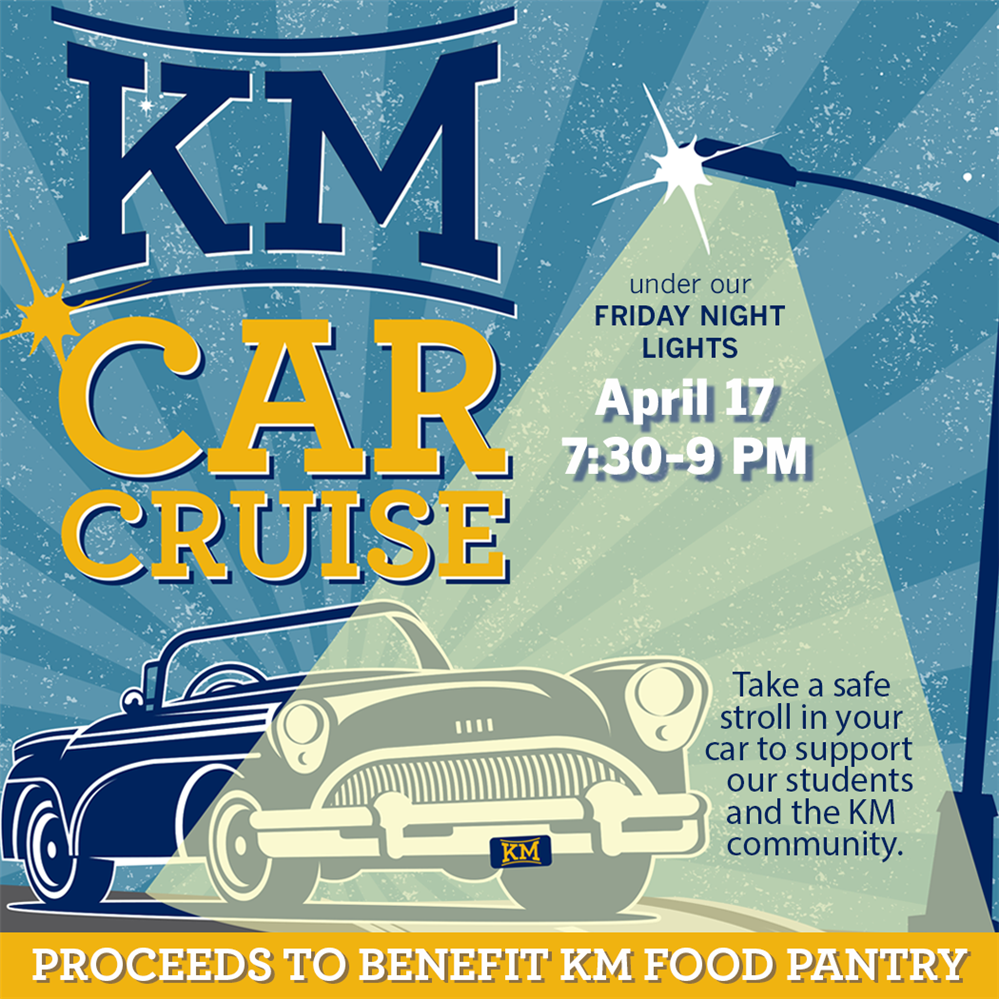 JOIN US FRIDAY FOR A KM CAR CRUISE!