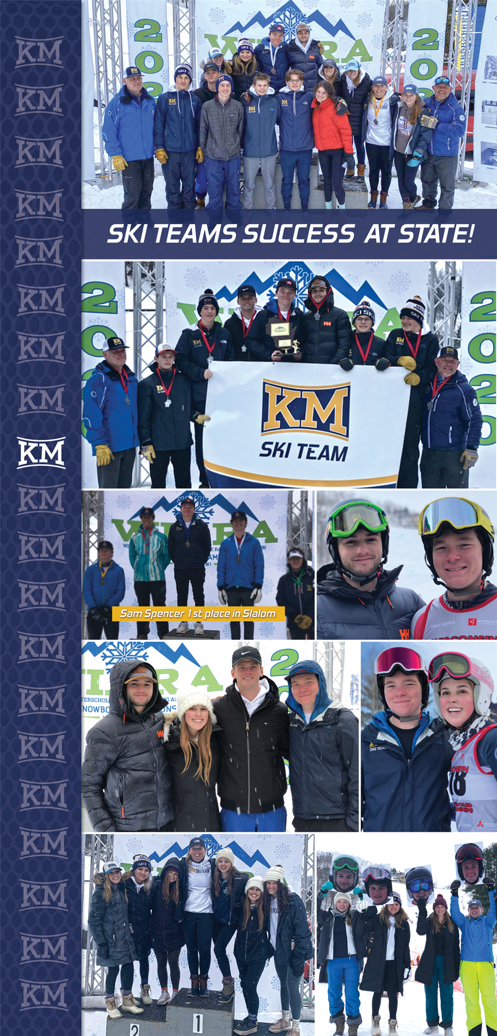 SKI TEAMS SUCCESS AT STATE!