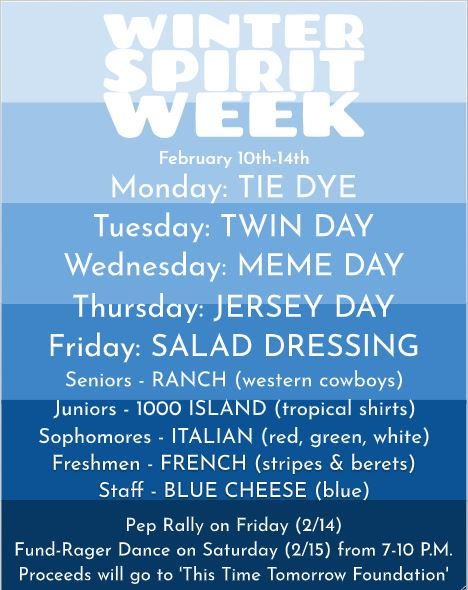 Winter Spirit Week!