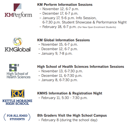 HS Campus Info Sessions