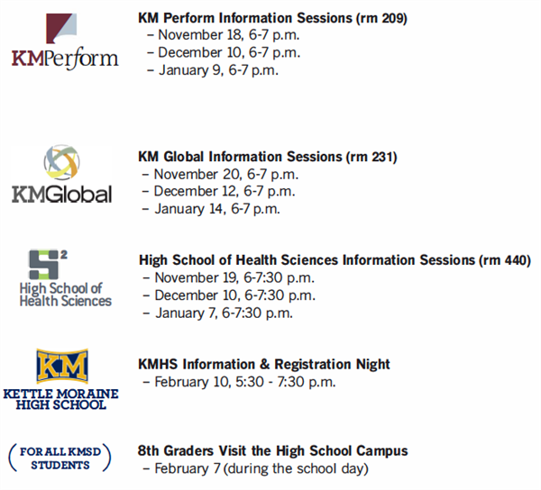 Info Night Sessions