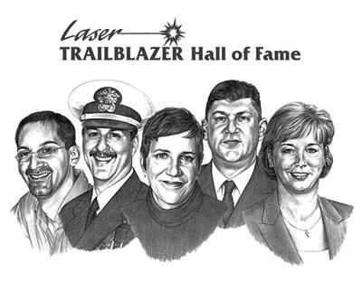 2007 Laser Trailblazer Hall of Fame Inductees