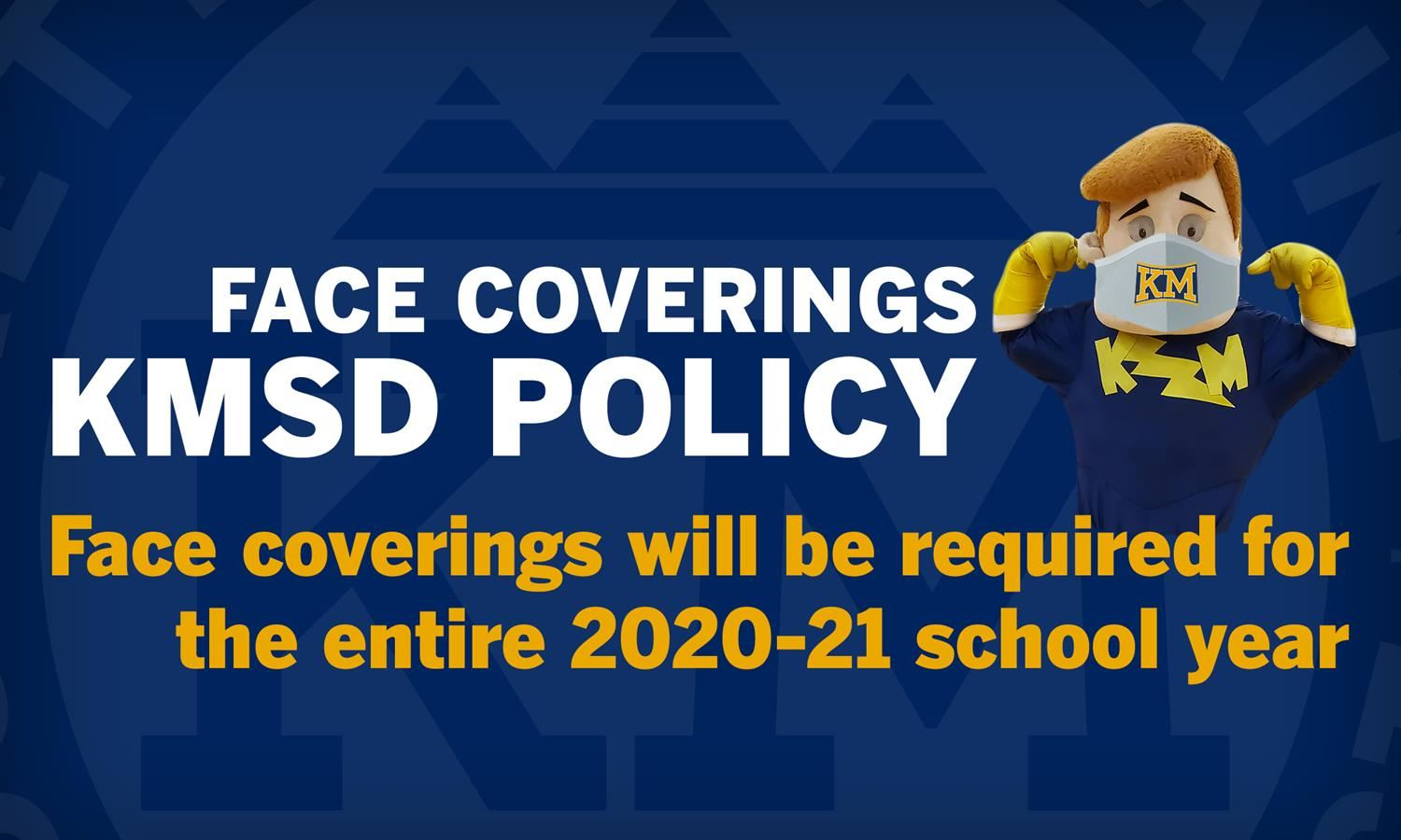 Face Coverings Policy To Remain For Entire 2020-21 School Year