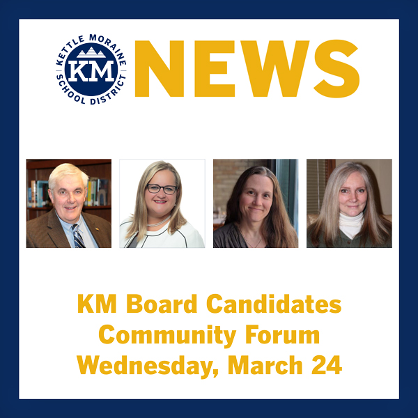 Kettle Moraine School Board forum