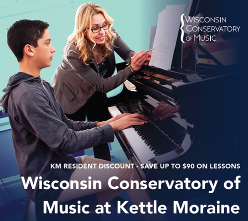 Kettle Moraine Partners With Wisconsin Conservatory of Music