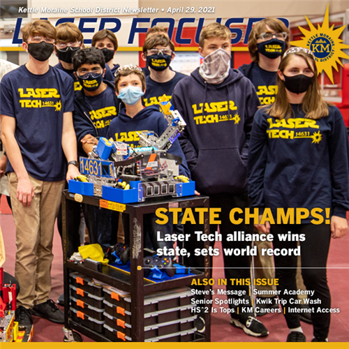 Kettle Moraine School District Laser Focused